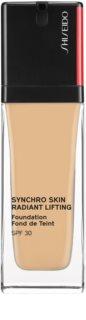 Shiseido Synchro Skin Radiant Lifting Foundation rozjasňující liftingový make-up SPF 30