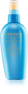 Shiseido Sun Care Sun Protection Spray Oil-Free Zonnebrand Spray  SPF 15