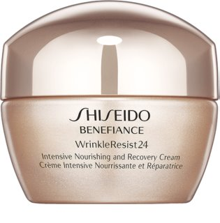 Shiseido Benefiance WrinkleResist24 Intensive Nourishing and Recovery Cream crema nutriente intensa antirughe