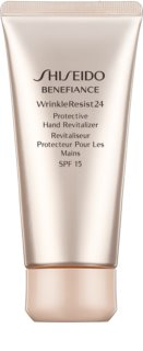 Shiseido Benefiance WrinkleResist24 Protective Hand Revitalizer crème rénovatrice et protectrice mains SPF 15