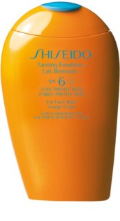 Shiseido Sun Care Tanning Emulsion mleczko do opalania SPF 6