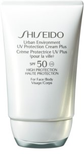 Shiseido Sun Care Urban Environment UV Protection Cream Plus loção hidratante protetora SPF 50
