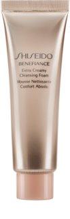Shiseido Benefiance WrinkleResist24 Extra Creamy Cleansing Foam finoman tisztító hab hidratáló hatással