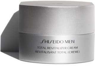 Shiseido Men Total Revitalizer Cream crema reparadora y revitalizadora  antiarrugas