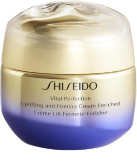 Shiseido Vital Perfection Uplifting & Firming Cream Enriched festigende Liftingcreme  für trockene Haut