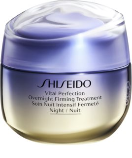 Shiseido Vital Perfection Overnight Firming Treatment festigende Liftingcreme für die Nacht