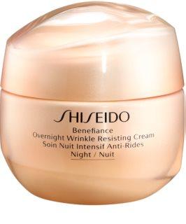 Shiseido Benefiance Overnight Wrinkle Resist Cream noční krém proti vráskám