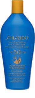 Shiseido Sun Care Expert Sun Protector Face & Body Lotion ochranná starostlivosť pred slnečným žiarením