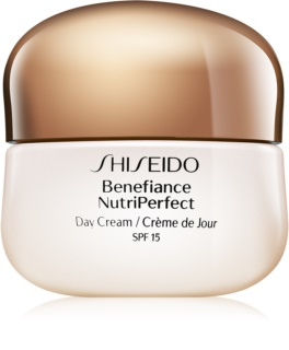 Shiseido Benefiance NutriPerfect Day Cream ανανεωτική κρέμα ημέρας SPF 15