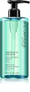 Shu Uemura Cleansing Oil Shampoo šampon pro mastné vlasy