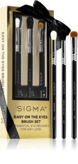 Sigma Beauty Easy on the Eyes Brush Set