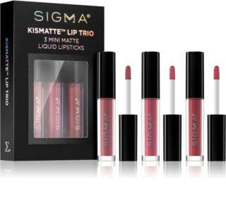 Sigma Beauty Kismatte set de rujuri
