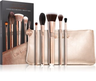Sigma Beauty Iconic Brush Set sada štětců s taštičkou II.