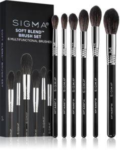 Sigma Beauty SOFT BLEND ™ set perii machiaj pentru femei