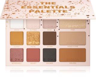 Sigma Beauty The Essentials Palette палетка теней для век с бронзером