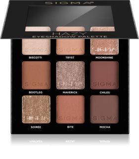 Sigma Beauty Eyeshadow Palette Spicy παλέτα με σκιές ματιών