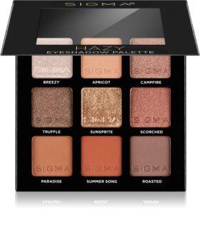Sigma Beauty Eyeshadow Palette Fiery Øjenskygge palette