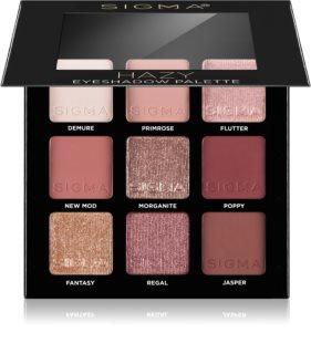 Sigma Beauty Eyeshadow Palette Rosy παλέτα με σκιές ματιών
