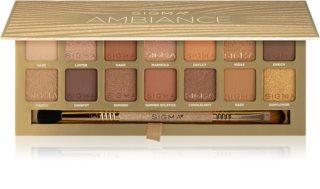 Sigma Beauty Ambiance Eyeshadow Palette παλέτα με σκιές ματιών