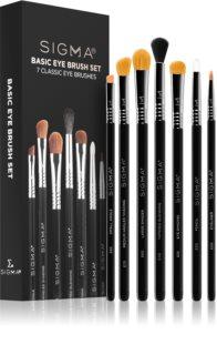 Sigma Beauty Basic Eye Brush Set kit de pinceaux (yeux)