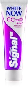 Signal White Now CC pasta de dientes blanqueadora para un cuidado completo