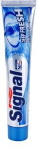 Signal Deep Fresh dentifrice pour une haleine fraîche