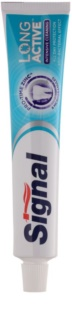 Signal Long Active Intensive Cleaning Toothpaste with Micro Particles for Thorough Cleansing