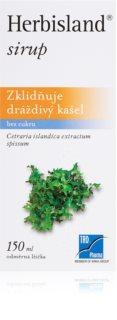 Silvita Herbisland sirup bylinný sirup proti bolesti v krku, suchému kašli a chrapotu