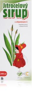 Silvita Jitrocelový sirup vitamín C bylinný sirup pro zdraví dýchací soustavy