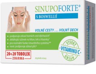 SINUPO Forte s Boswellií 20+20 tob. doplněk stravy  pro normální funkci dýchacího systému