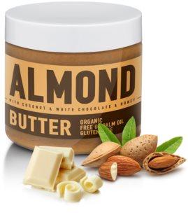SizeAndSymmetry Mandlový krém s bílou čokoládou, kokosem a medem ořechová pomazánka