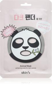 Skin79 Animal For Dark Panda озаряваща платнена маска