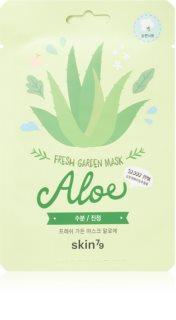 Skin79 Fresh Garden Aloe Rauhoittava Naamiolaatta Kasvoille Aloe Veran Kanssa