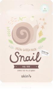 Skin79 Fresh Garden Snail masque en tissu revitalisant à l'extrait de bave d'escargot