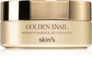 Skin79 Golden Snail Kasvoja Elvyttävä Hydrogeelinaamio Etanauutteella Silmien Alueelle