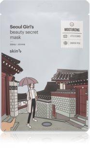 Skin79 Seoul Girl's Beauty Secret Feuchtigkeitsspendende Tuchmaske