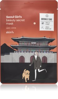 Skin79 Seoul Girl's Beauty Secret Anti-Wrinkle Face Sheet Mask