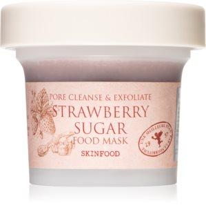 Skinfood Food Mask Strawberry Sugar feuchtigkeitsspendende Antioxidans-Gesichtsmaske mit Peelingeffekt