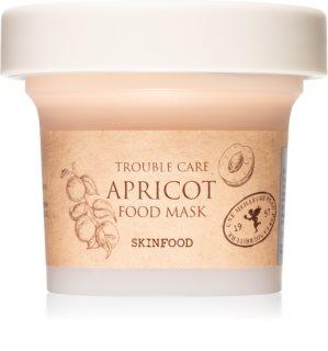 Skinfood Food Mask Apricot masque apaisant pour les peaux à problèmes et grasses