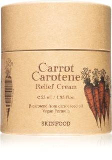Skinfood Carrot Carotene könnyű krém az érzékeny bőr megnyugtatásához és erősítéséhez