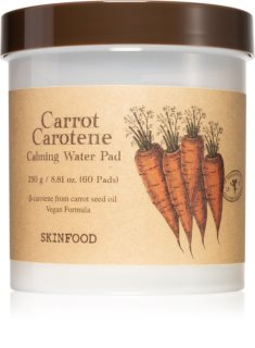 Skinfood Carrot Carotene vattakorong nyugtató hatással
