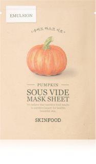 Skinfood Sous Vide Pumpkin bőrfeszesítő ézilmaszk az élénk bőrért