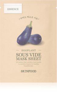 Skinfood Sous Vide Eggplant hydratační plátýnková maska pro rozjasnění pleti