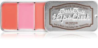 Skinfood Fresh Fruit Lip & Cheek tónovací balzám na rty a tváře odstín