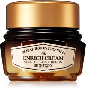 Skinfood Royal Honey Essential mélyen hidratáló krém feszesítő hatással