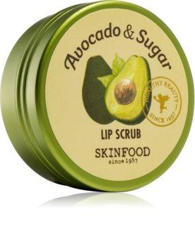 Skinfood Avocado & Sugar Läpp-skrubb