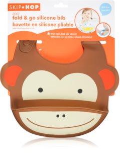 Skip Hop Zoo Monkey előke 6m+