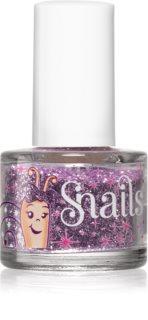 Snails Glitter for nails třpytky na nehty odstín Purple red