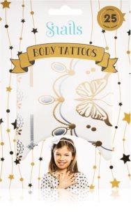 Snails Body Tattoo tetování na tělo Metallic