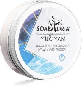 Soaphoria Soapgasm Men pánsky organický krémový dezodorant
